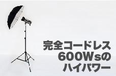 バッテリーストロボ HD-610 高光量600Ws