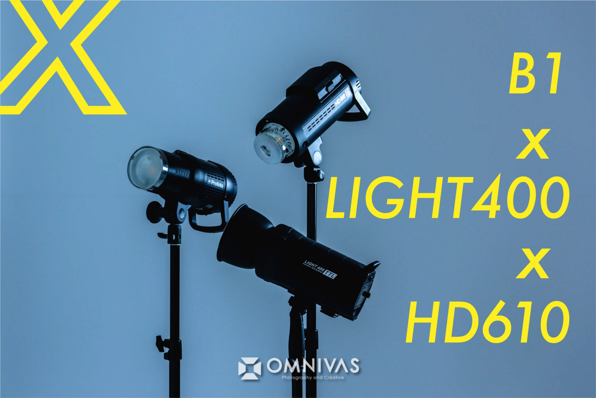 【ProfotoB1 vs JINBEI HD610 vs LIGHT400】バッテリーストロボ徹底比較 光質編