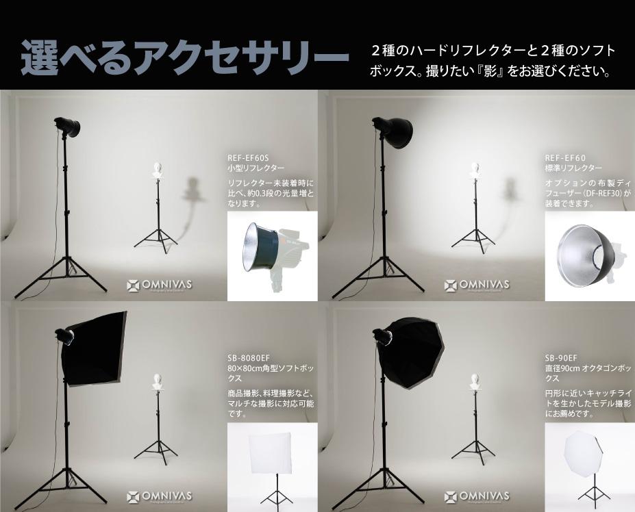 撮影用LEDライト ソフトボックス リフレクター