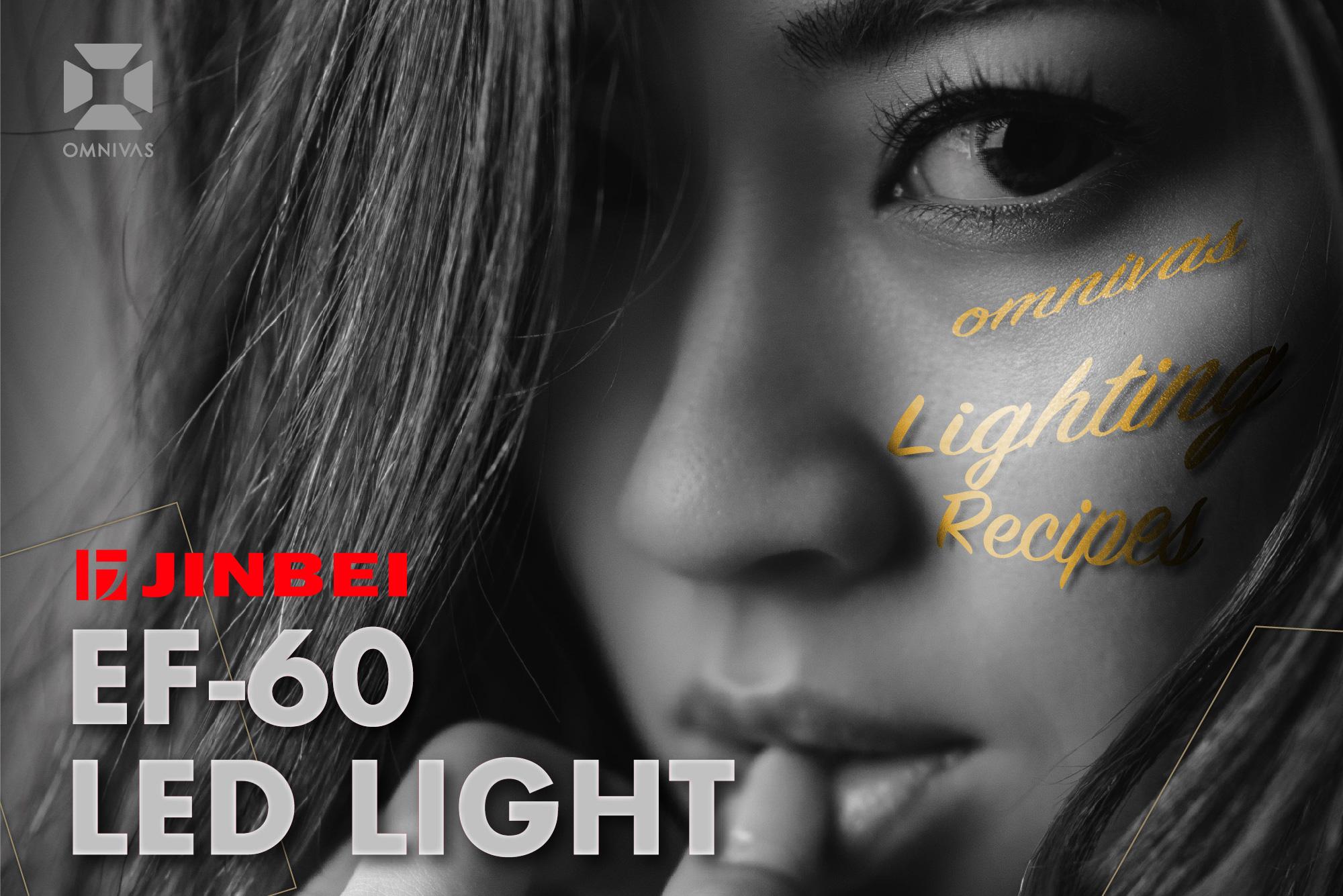 LEDライト2灯で撮る!女性ポートレートのライティングバリエーション【EF-60編】