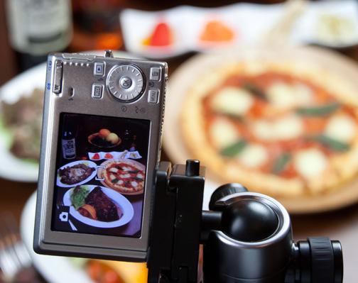 料理写真、メニューをコンデジ(デジカメ)を使って撮影する方法